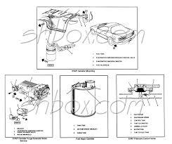 4th gen lt1 f body tech aids drawings u0026 exploded views