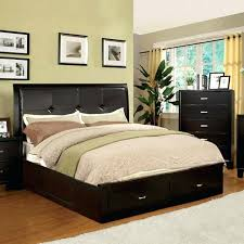 cal king bed frame with drawers image of smart cal king storage