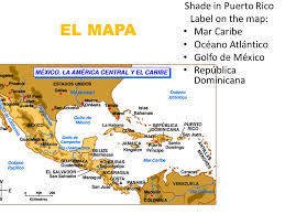 map usa y mexico español ii ppt