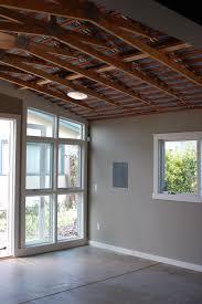 exposed ceiling insulation maccall street art studio oakland