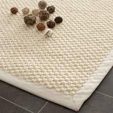 Round Sisal Rugs by Safavieh Chunky Basketweave Cream Sisal Rug Overstock Com