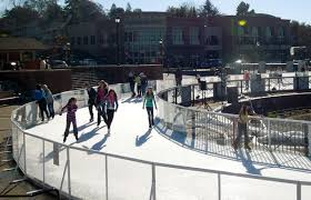 Build A Backyard Ice Rink How Warm Weather Outdoor Ice Rinks Are Made