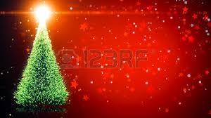falling snowflake christmas lights merry christmas greeting card christmas tree with shining light