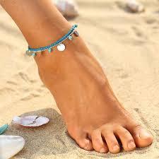 ankle bracelet from images Beach chic ankle bracelets ocean helper jpg
