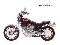 yamaha xv750 brief about model