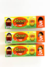 reese easter egg reese s peanut butter creme egg review popsugar food