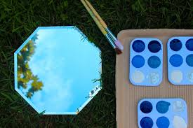 diy mirror painting kids craft honest to nod