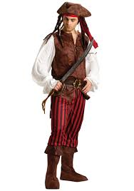 male caribbean pirate costume