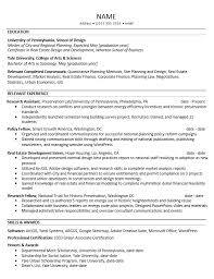 Resume Example Letter by Career Services At The University Of Pennsylvania