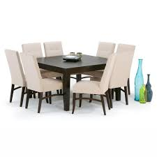 simpli home ezra 9 piece natural dining set axcds9ez nl the home
