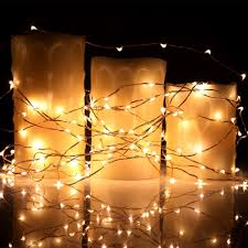 copper wire led lights products 33ft led copper wire string lights hahome