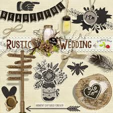 rustic wedding scrapbook a set of free rustic extras designed to coordinate with the rustic