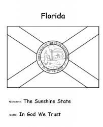 florida state flag coloring page pertaining to encourage in