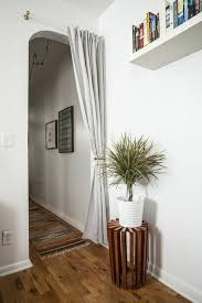 Curtain Door Doable Decorating Ideas To For Your Apartment