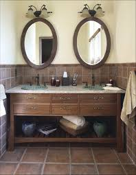 Custom Bathroom Mirror Oval Bathroom Mirrors For House Design Plan With Oval