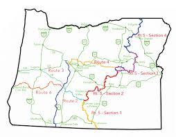 map of oregon i 5 adventure alert oregon border to border and nw overland rally
