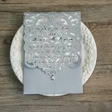 silver wedding invitations cheap invites at invitesweddings