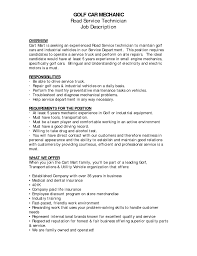 Sample Resume For Auto Mechanic by Resume For Automotive Technician Resume For Your Job Application