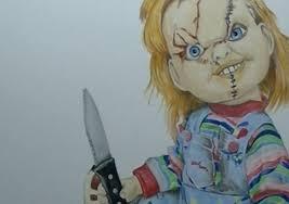 Draw Halloween Draw Halloween Characters Chucky Child U0027s Play Youtube