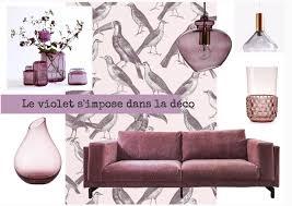 Le Violet Lui Donne Du Caractère De L Tendance Déco Le Violet S Impose Dans Notre Déco