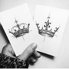 king and queen tattoo tattoo ideas pinterest queen tattoo
