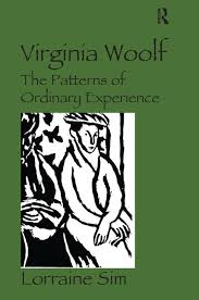 virginia woolf the patterns of ordinary experience hardback