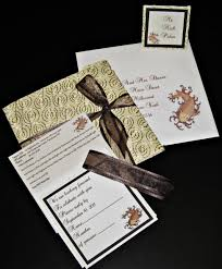 Single Card Wedding Invitations Annemarie Prinsloo Creations Invitations
