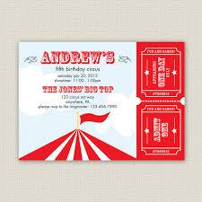 5th birthday party invitation free printable carnival birthday party invitations drevio