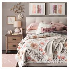 watercolor floral quilt king threshold target