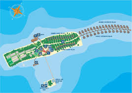 Sunrise Sunset Map Maldives Resort Map Enlarged