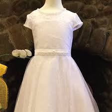 christie helene communion dress uf4151 christie helene angel signature communion dress