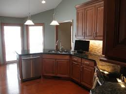 Behr Paint Kitchen Cabinets Behr Deckover Reviews For A Traditional Kitchen With A Painted