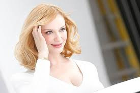 car commercial girl short blond hair here s why this christina hendricks commercial was banned in the