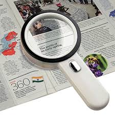 10x magnifying glass with led light amazon com number one 10x led lighted magnifier handheld