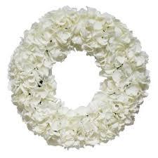 hydrangea wreath dried hydrangea wreath wayfair
