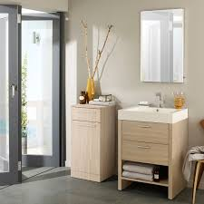 Freestanding Bathroom Furniture Oak Bathroom Cabinets Makeover Oak Bathroom Furniture Design