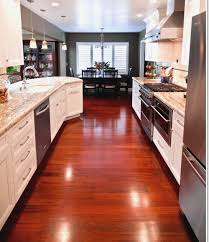 wood kitchen flooring cherry wood ideas for kitchen