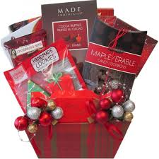 send holiday gift baskets free delivery to toronto ottawa