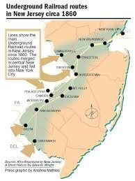 Map Nj Underground Railroad Map Nj Image Gallery Hcpr