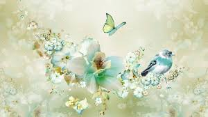Flower And Bird - flowers for flower flowers and birds beautiful wallpapers