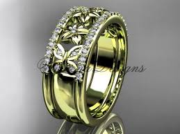 butterfly engagement rings 14kt yellow gold engagement ring butterfly engagement ring ad