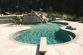 options for concrete pool decks luxury pools