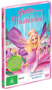 barbie thumbelina dvds