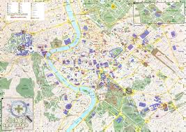 best tourist map of rome maps top tourist attractions free printable city map