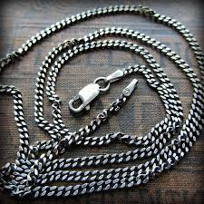 silver curb necklace images Sterling silver curb chain 2mm shannon westmeyer jewelry jpg