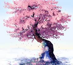 the cherry blossom tree by lluluchwan on deviantart