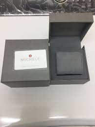 deco 16 two tone 18 michele gold silver reserved for corren nwot ascolon