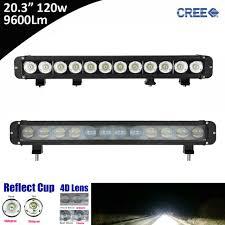 20 single row led light bar 1pcs 120w 9600lm super bright 20 inch single row straight led light