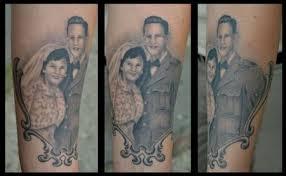 graceland tattoo kiosk tattoos diego grandparents portrait