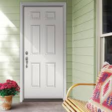 Home Depot Doors Exterior Steel Home Depot Doors Exterior Single Door With Sidelites 6 Panel Front